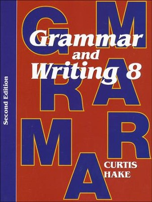 Saxon Grammar & Writing Grade 8 Student Text, 2nd  Edition  -