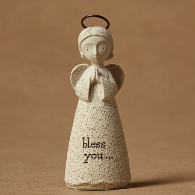Bless You! Bless You!(tm) Angel Figurine  -     By: Karen Hahn