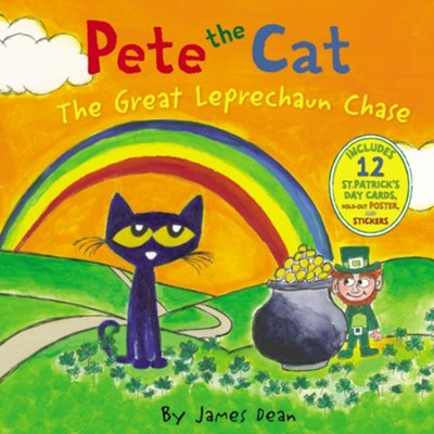 Pete the Cat: The Great Leprechaun Chase  -     By: James Dean     Illustrated By: James Dean