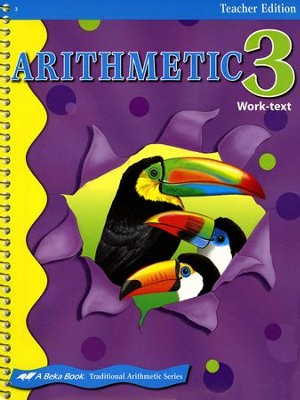 Abeka Arithmetic 3 Teacher's Edition   -