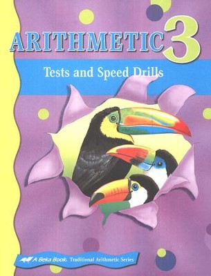 Abeka Arithmetic 3 Student Tests and Speed Drills   -