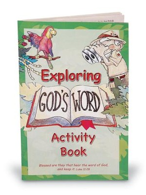 Exploring God's Word Activity Book  -