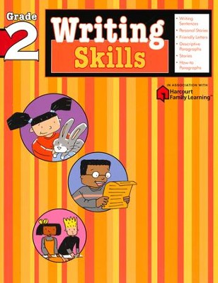 Writing Skills Flash Kids Workbook, Grade 2   -     By: Flash Kids Editors