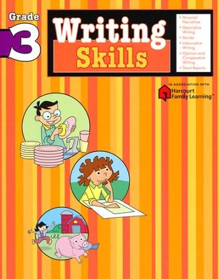 Writing Skills Flash Kids Workbook, Grade 3   -     By: Flash Kids Editors