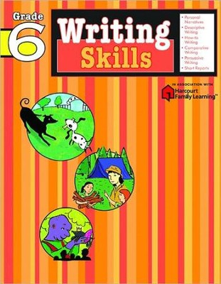 Writing Skills Flash Kids Workbook, Grade 6   -     By: Flash Kids Editors