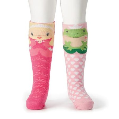 Princess and Frog Knee Socks  -