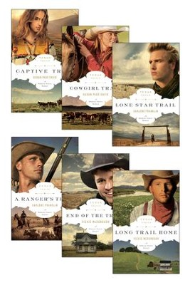 The Texas Trails Series: A Morgan Family Series / New edition - eBook  -     By: Vickie McDonough, Darlene Franklin, Susan Page Davis