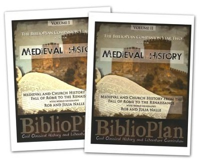 The BiblioPlan Companion Year Two: A Text for Medieval History (2 Volumes)  -     By: Rob Nalle, Julia Nalle