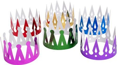 Over the Moat VBS: Prism Crowns, 12 pack   -