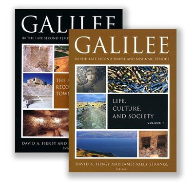 Galilee in the Late Second Temple and Mishnaic Periods, Two-Volume Set  -     By: David A. Fiensy, James Riley Strange