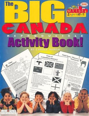 Canada Big Activity Book, Grades K-5  -     By: Carole Marsh