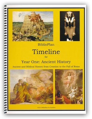 BiblioPlan Timeline for Year One: Ancient History    -