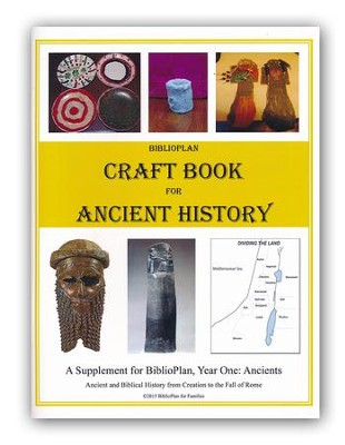 BiblioPlan Craft Book for Ancient History   -