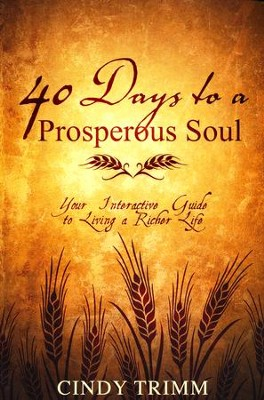 40 Days to a Prosperous Soul: Your Interactive Guide to Living a Richer Life  -     By: Cindy Trimm