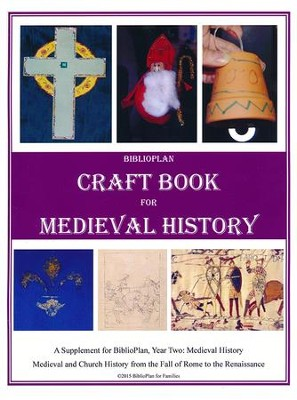 BiblioPlan Craft Book for Medieval History   -