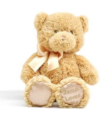 Jesus loves me lullaby teddy bear tan by gund christianbook jesus loves me lullaby teddy bear tan by gund fandeluxe PDF