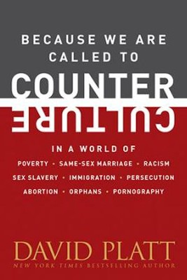 Because We Are Called to Counter Culture in a World of Poverty, Same-Sex Marriage, Racism, Sex Slavery, Immigration  -     By: David Platt