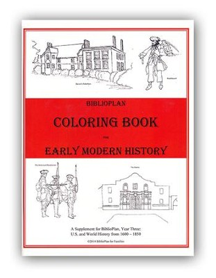 BiblioPlan Coloring Book for Early Modern History   -