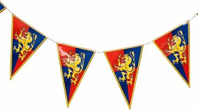 Over the Moat VBS: Medieval Pennant Banner: 9781629405452 ...