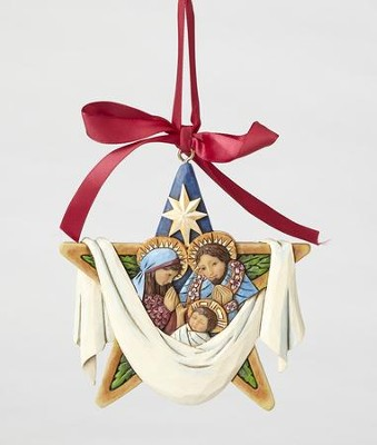 The Legend Of The Christmas Star, Ornament from Heartwood Creek  -     By: Jim Shore