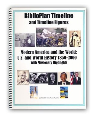 BiblioPlan Timeline for Year Four: Modern History   -
