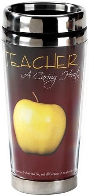 Teacher A Caring Heart Travel Mug  -