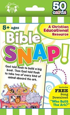 Bible Snap! 50 Count Flashcard Game   -