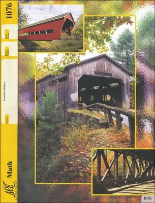 Grade 7 Math PACE 1076, 4th Edition  -
