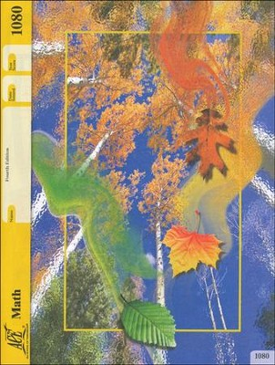 Grade 7 Math PACE 1080, 4th Edition  -