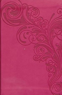 NKJV Compact UltraThin Bible, Pink Imitation Leather  -