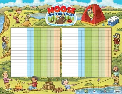 Camp Moose on the Loose: Attendance Chart  -