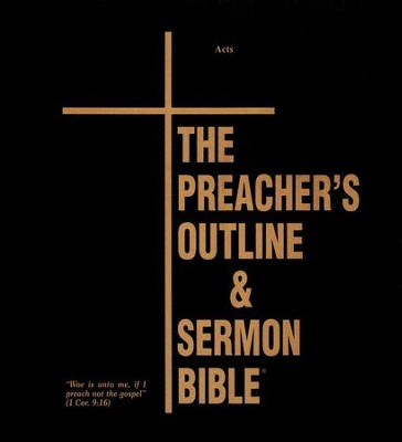 Acts [The Preacher's Outline & Sermon Bible, KJV Deluxe]   -