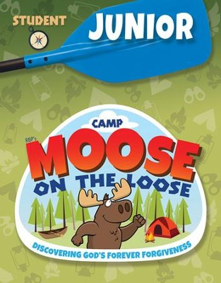 Camp Moose On The Loose Junior Student Activity Sheets Nkjv