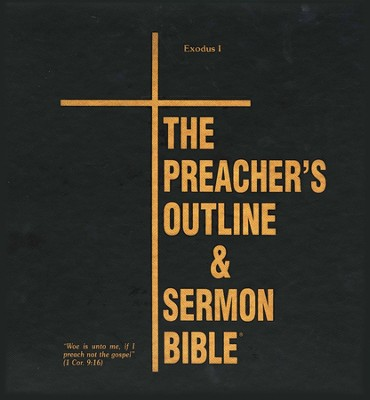 Exodus: Part 1 [The Preacher's Outline & Sermon Bible, KJV Deluxe]  -