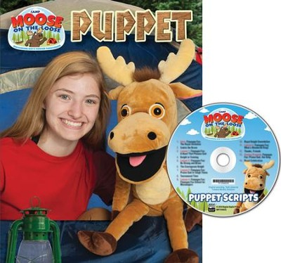 Camp Moose on the Loose: Puppet Script & CD (Dialogue only)  -