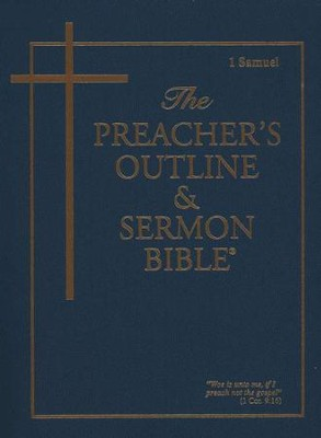 1 Samuel [The Preacher's Outline & Sermon Bible, KJV]   -