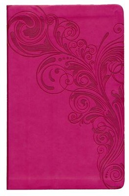 HCSB Ultrathin Reference Bible, Pink LeatherTouch, Thumb-Indexed  -