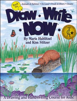 Draw Write Now, Book 6: Animals and Habitats - On Land, Ponds and Rivers, Oceans  -     By: Marie Hablitzel