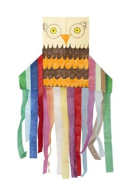 Camp Moose on the Loose: Owl Windstock Craft Kit (pkg of 28)  -