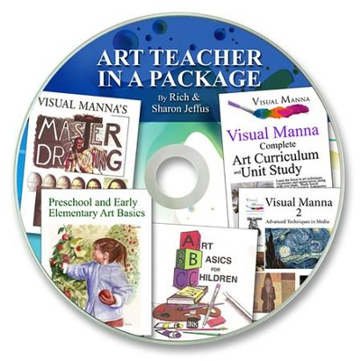 Art Teacher in a Package PDF CD-ROM   -     By: Rich Jeffus, Sharon Jeffus