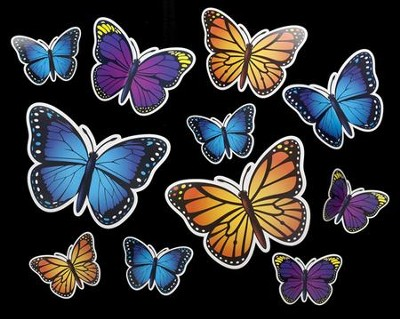 Camp Moose on the Loose: 3-D Butterfly Cutouts  -