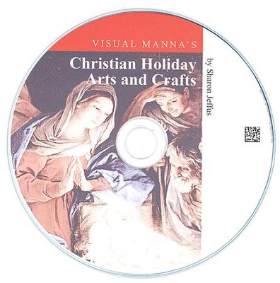 Visual Manna's Christian Holiday Arts & Crafts PDF CD-ROM  -     By: Sharon Jeffus