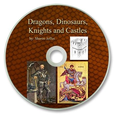Dragons, Dinosaurs, Knights and Castles PDF CD-ROM   -     By: Sharon Jeffus