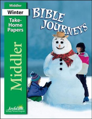 Bible Journeys Middler (Grades 3-4) Take-Home Papers   -