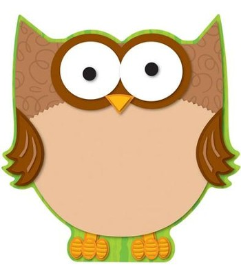 Camp Moose on the Loose: Owl Cutout  -