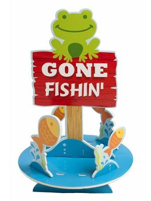 Camp Moose on the Loose: Gone Fishin' Centerpiece  -