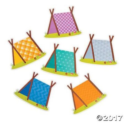 Camp Moose on the Loose: Tent Cutouts  -