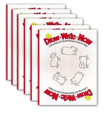 Pack of 6 Draw Write Now Student Workbooks   -