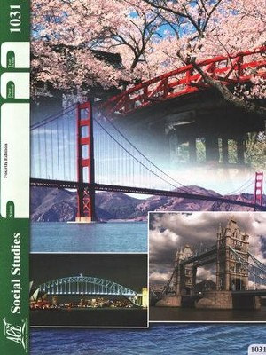 4th Edition Social Studies PACE 1031 Grade 3  -