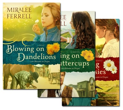 Love Blossoms in Oregon Series, Volumes 1-3  -     By: Miralee Ferrell